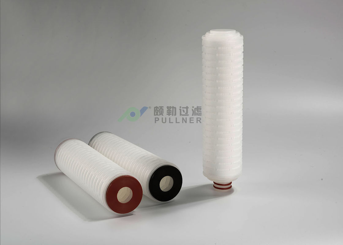 PP Pleated Water Filter Cartridges , Industrial Cartridge Filters 5 Micron RO Filtration