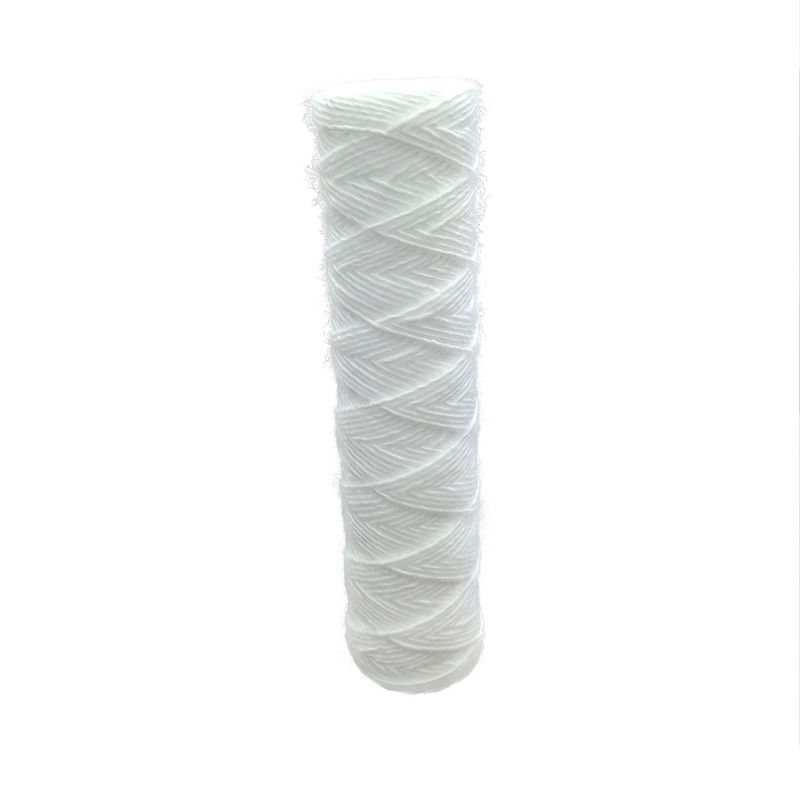 "2.5"" 1um PP String Wound Water Filter Cartridges For High Viscosity Material"